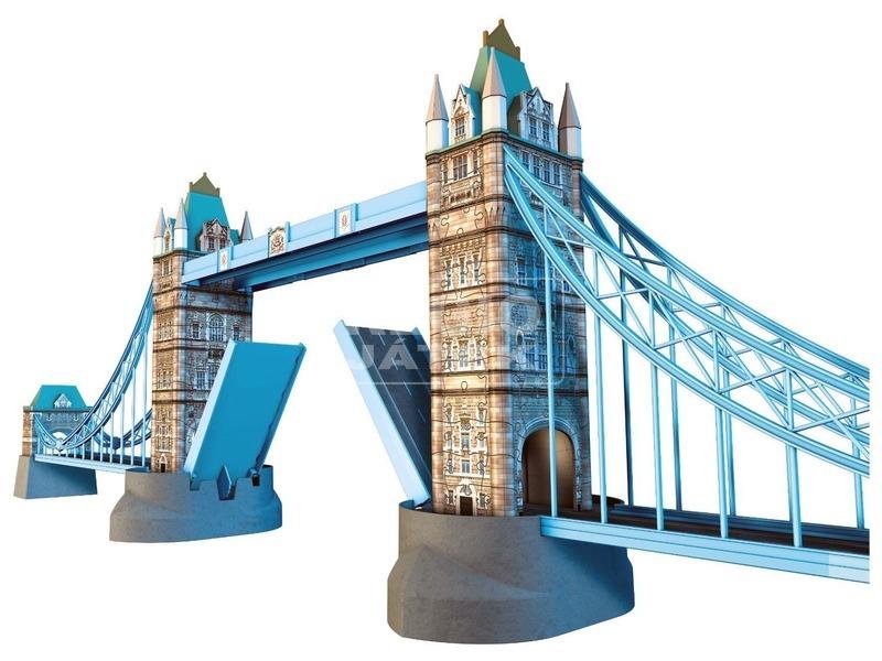 kép nagyítása Tower-híd 216 darabos 3D puzzle