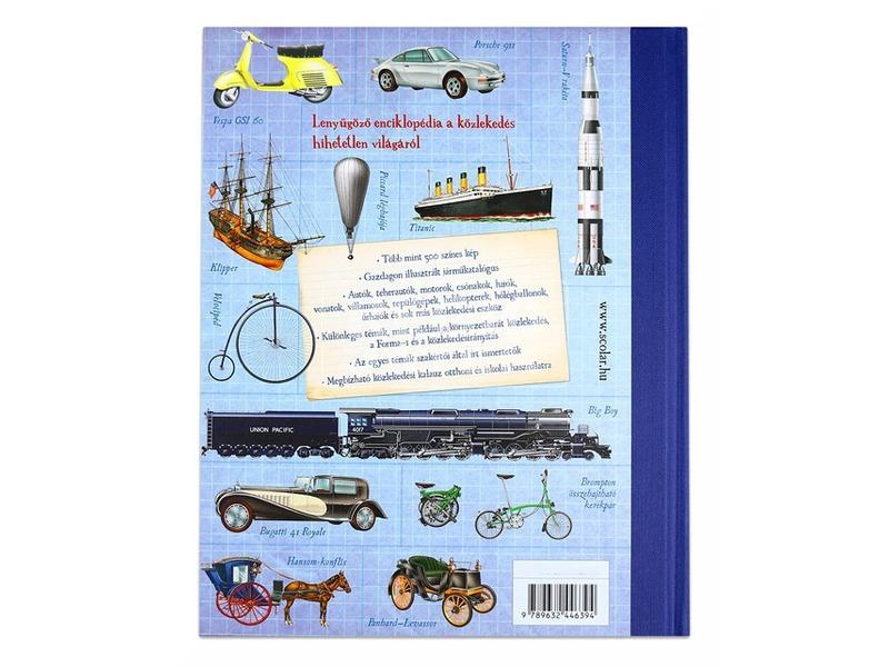 kép nagyítása Gyerek közlekedési enciklopédia
