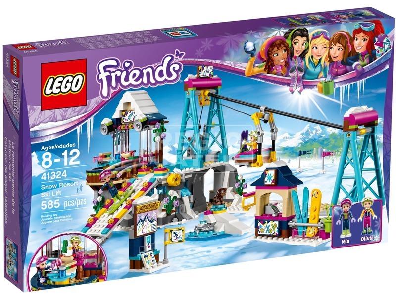 LEGO Friends Sífelvonó a havas üdülőhelyen 41324