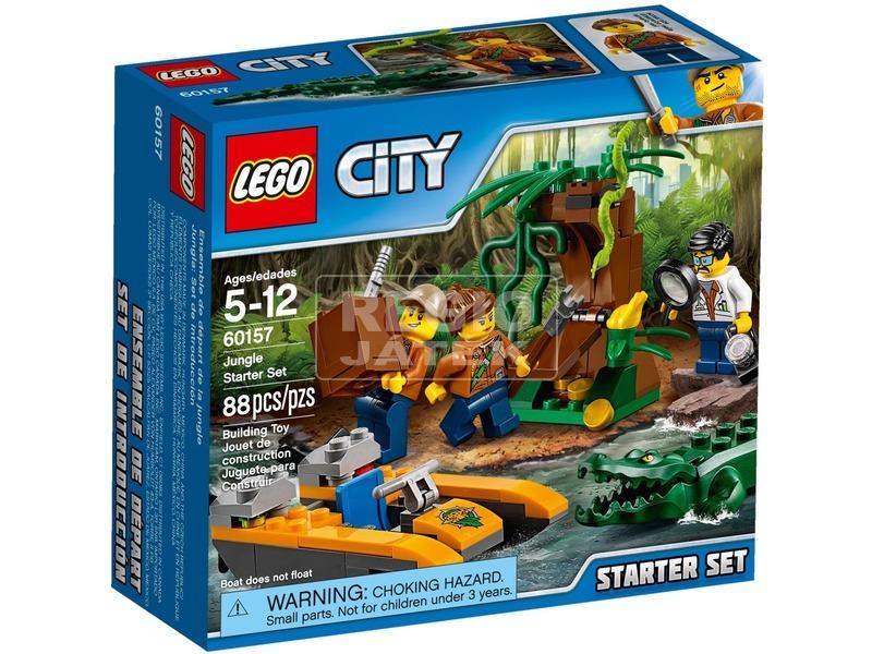 LEGO City Dzsungel kezdőkészlet 60157