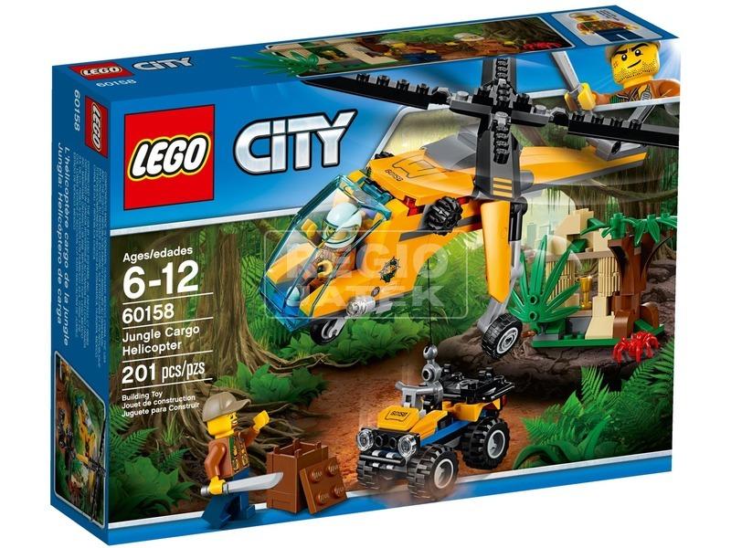 LEGO® City Dzsungel teherszállító helikopter 60158