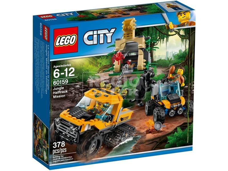 LEGO City Dzsungel küldetés járművel 60159