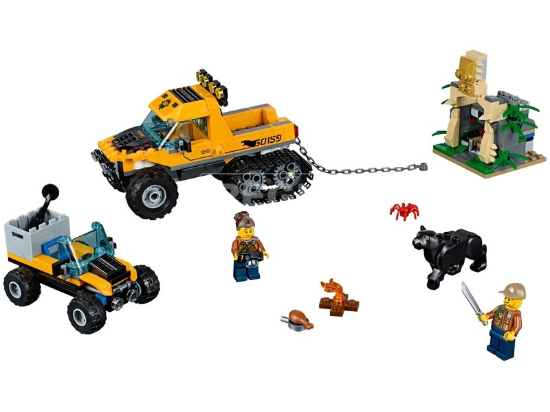 kép nagyítása LEGO® City Dzsungel küldetés járművel 60159