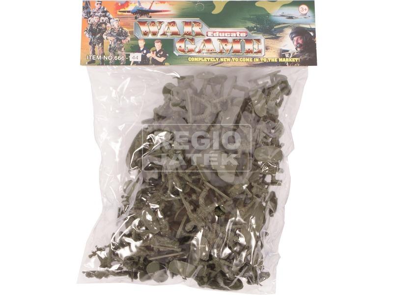 Műanyag hadsereg közepes zacskós. 0810Y020