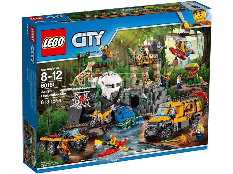 LEGO City Dzsungel kutatási terület 60161