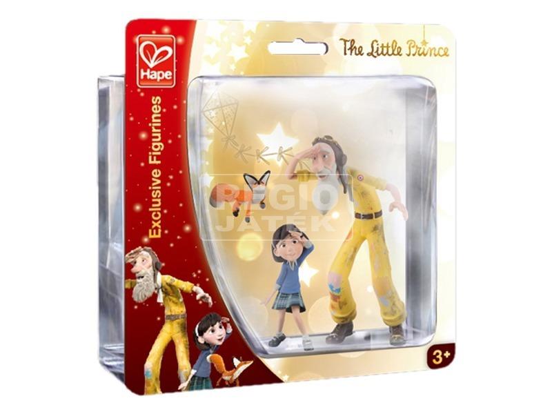 Kis herceg figurák-kislány, pilóta