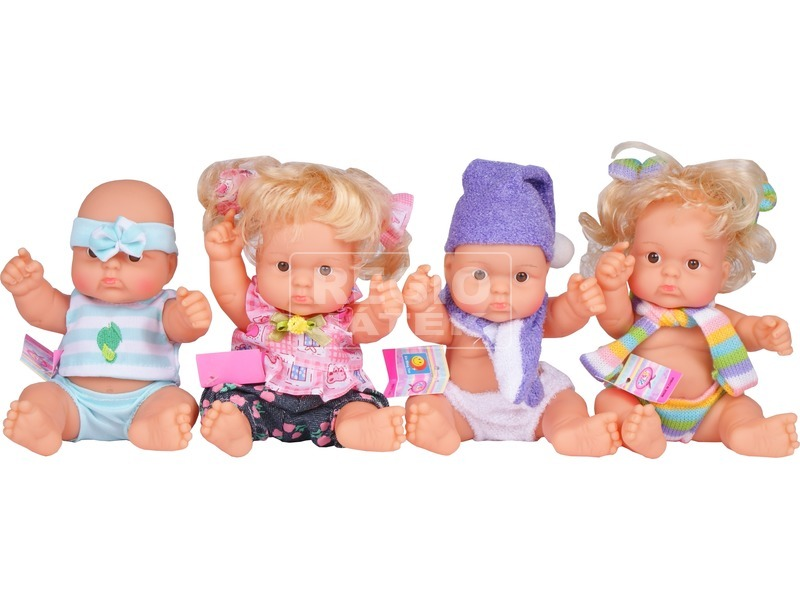 Baby játékbaba - 25 cm, többféle