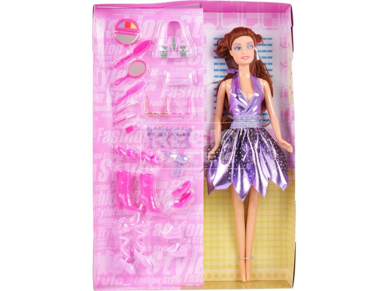 Defa Lucy balerina baba kiegészítőkkel -30 cm, többféle