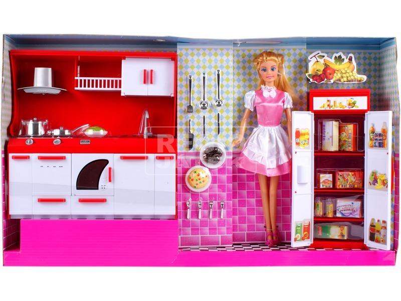 Defa Lucy baba konyhája babával - 30 cm