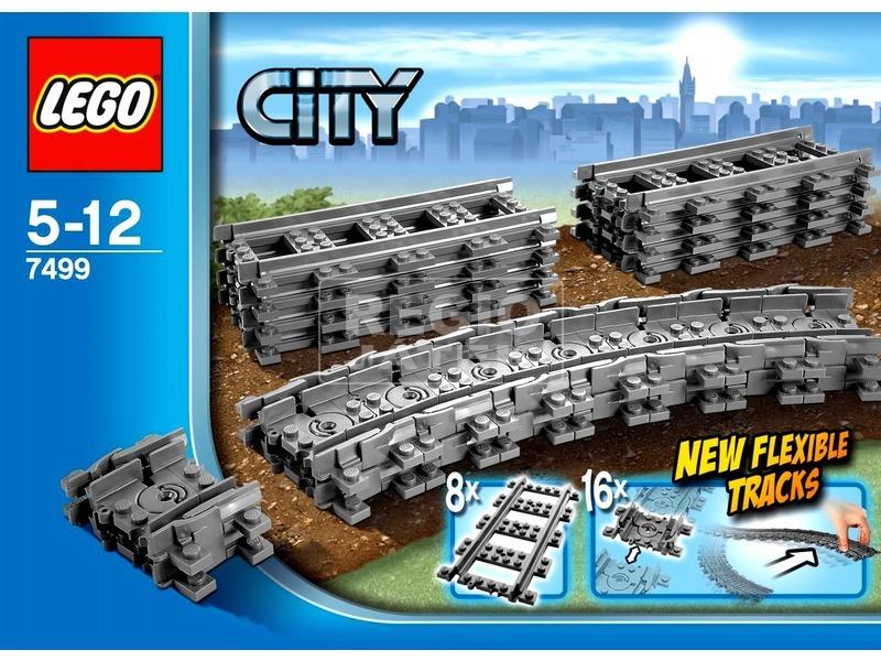 LEGO City Rugalmas sínek 7499