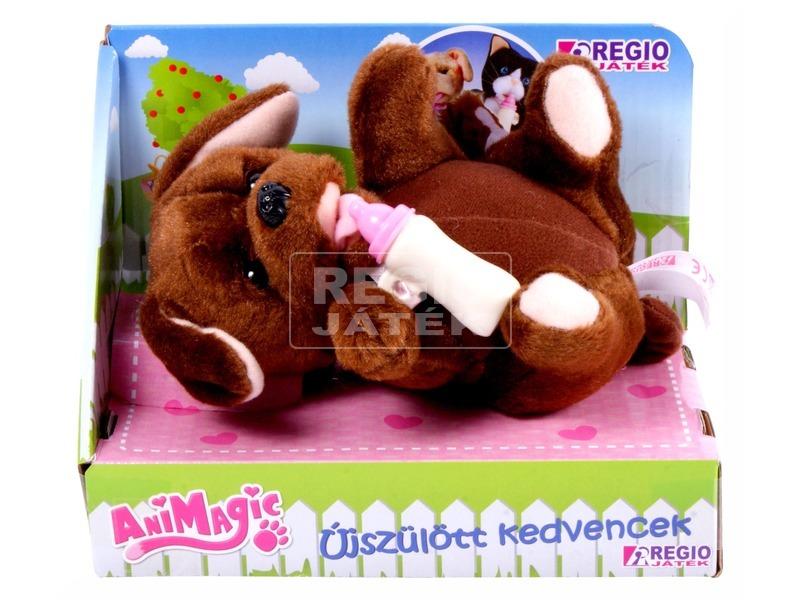 Animagic újszülött kedvencek - barna kutya