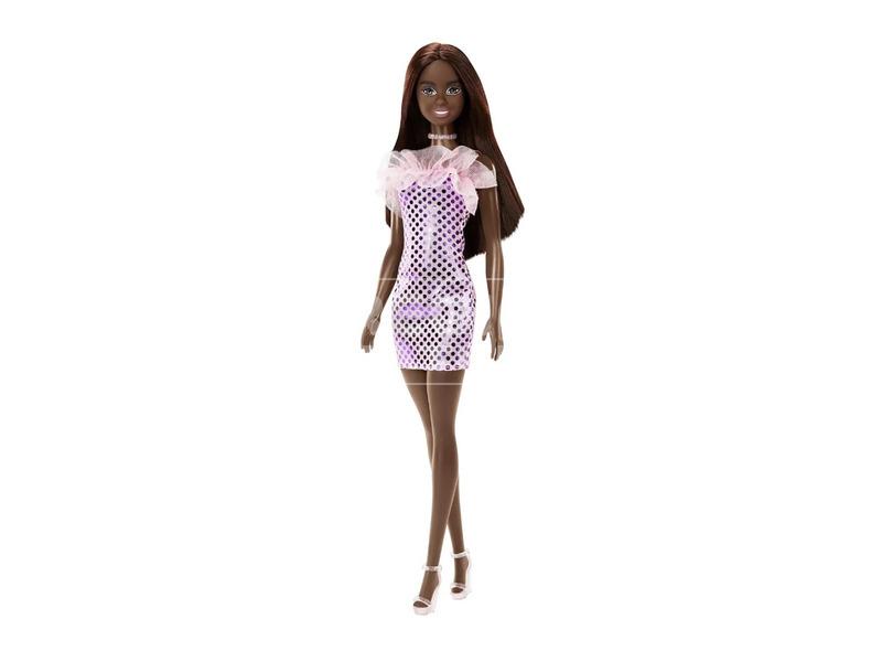 Barbie: baba party ruhában kiegészítőkkel - többféle