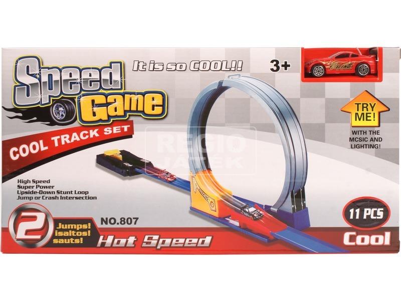 kép nagyítása Speed Game állítható 11 darabos autóverseny pálya