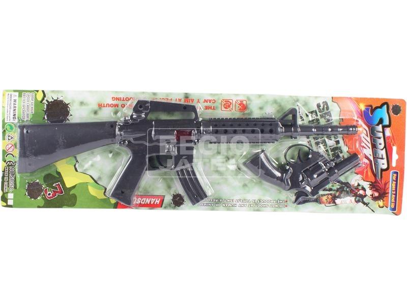 kép nagyítása Super Gun géppuska és pisztoly készlet