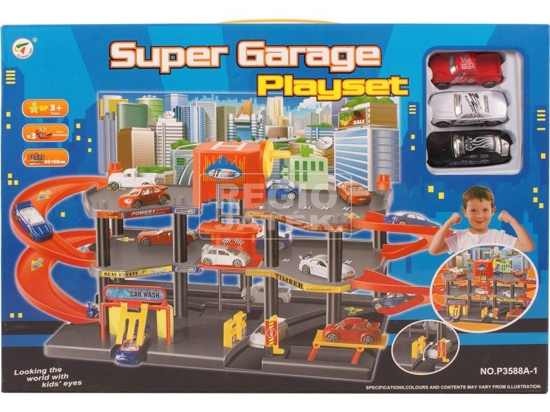 Super Garage parkolóház 3 autóval