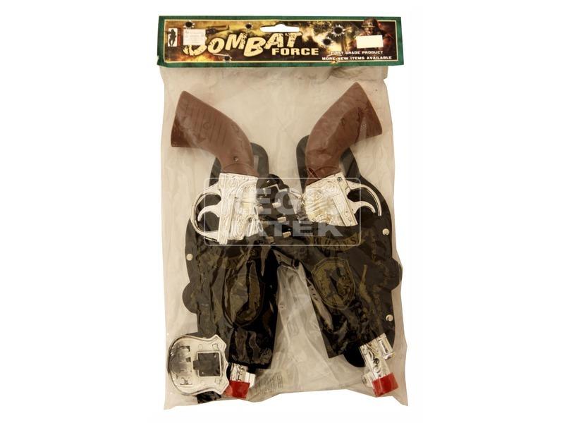 kép nagyítása Cowboly pisztoly 2 darabos készlet