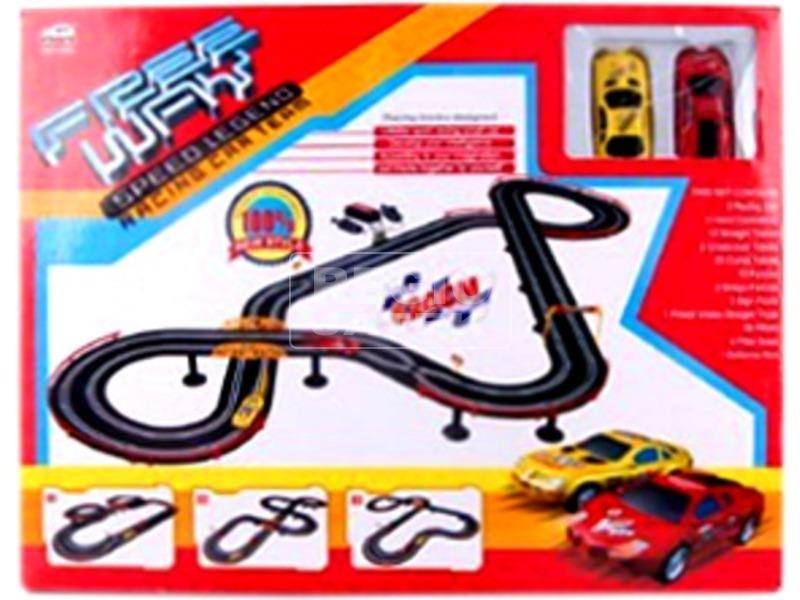 Elektromos autópálya 2 autóval - 620 cm