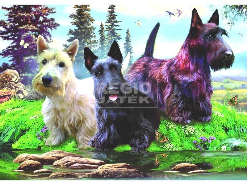 Csavargó kutyacsapat 1000 darabos puzzle