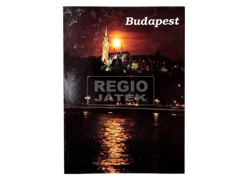 Budapest képeslap - többféle