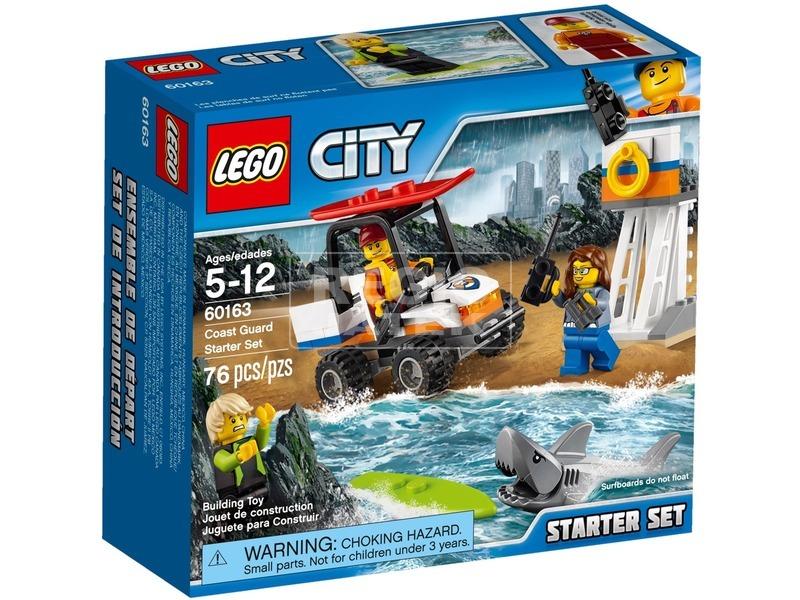 LEGO® City Parti őrség kezdőkészlet 60163