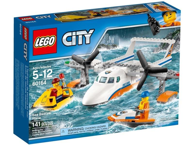LEGO City Tengeri mentőrepülőgép 60164