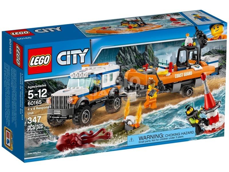 LEGO® City 4 x 4 Sürgősségi egység 60165