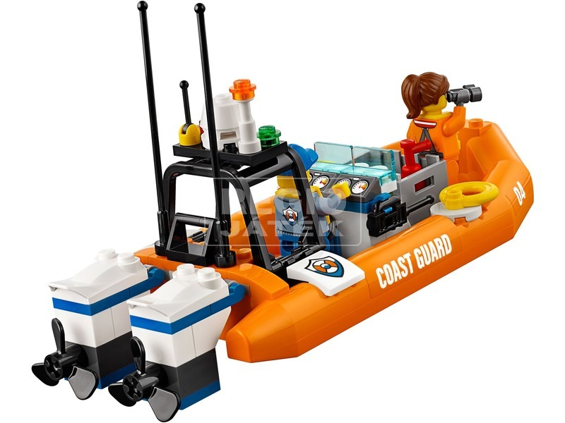 kép nagyítása LEGO® City 4 x 4 Sürgősségi egység 60165