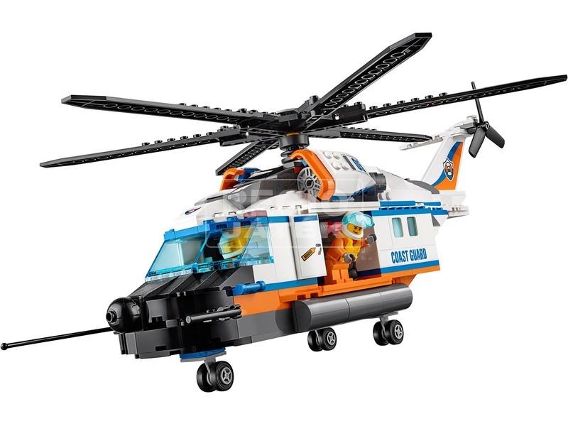 kép nagyítása LEGO® City Nagy teherbírású mentőhelikopter 60166