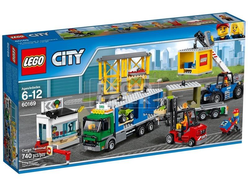 LEGO City Teherszállító terminál 60169