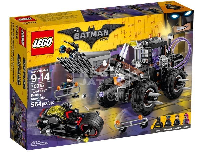 LEGO Batman Movie Kétarc pusztító járműve 70915