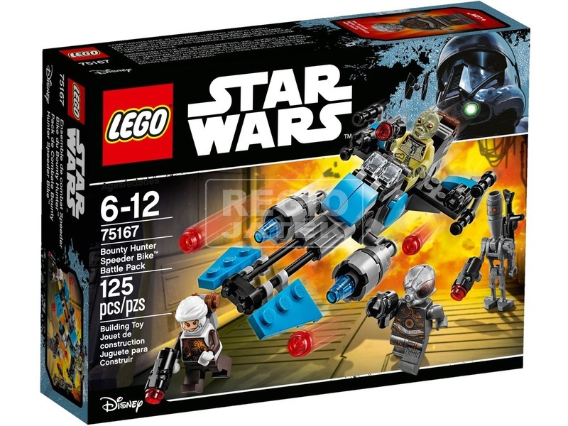 LEGO Star Wars Fejvadász speeder bike 75167