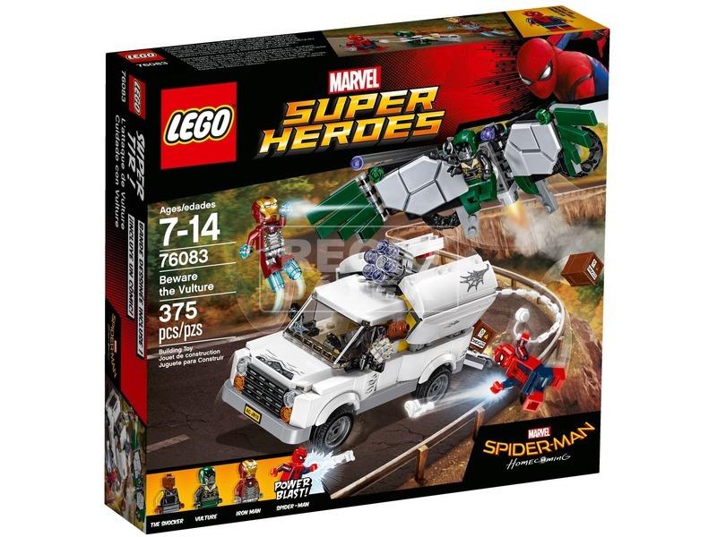 LEGO® Super Heroes Pókember keselyű ellen 76083