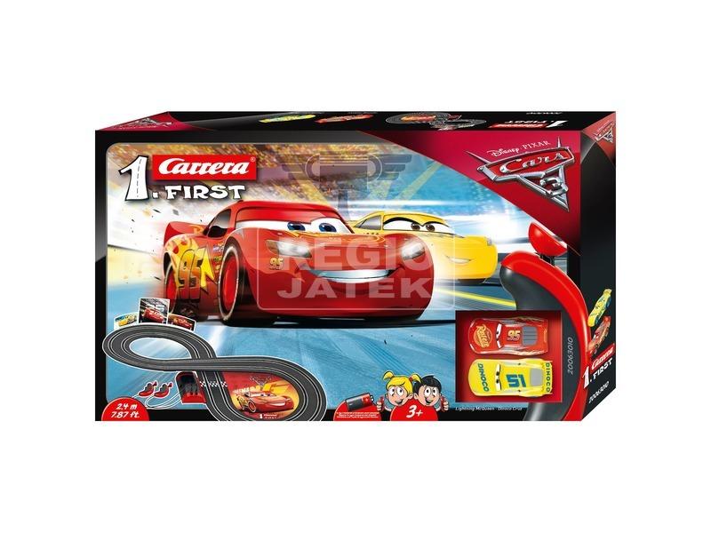 Carrera First Verdák 3 versenypálya - 1:50