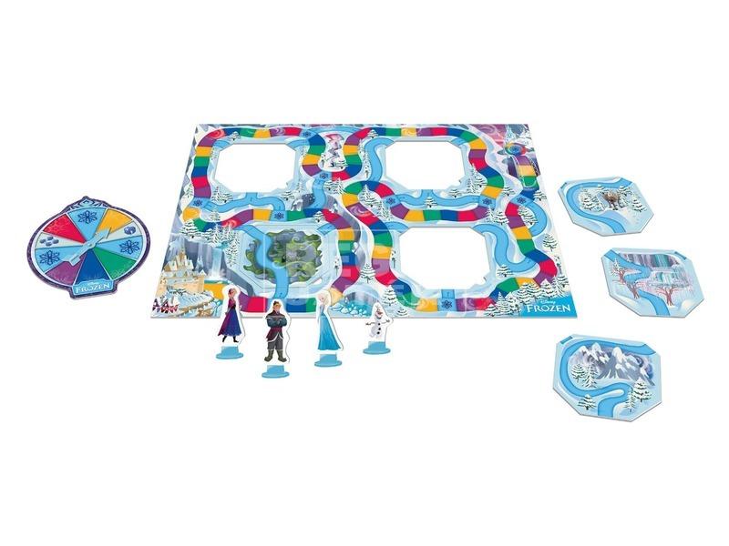 kép nagyítása Jégvarázs csúszka-móka társasjáték