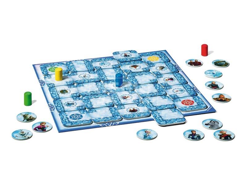 kép nagyítása Jégvarázs Junior Labirintus társasjáték