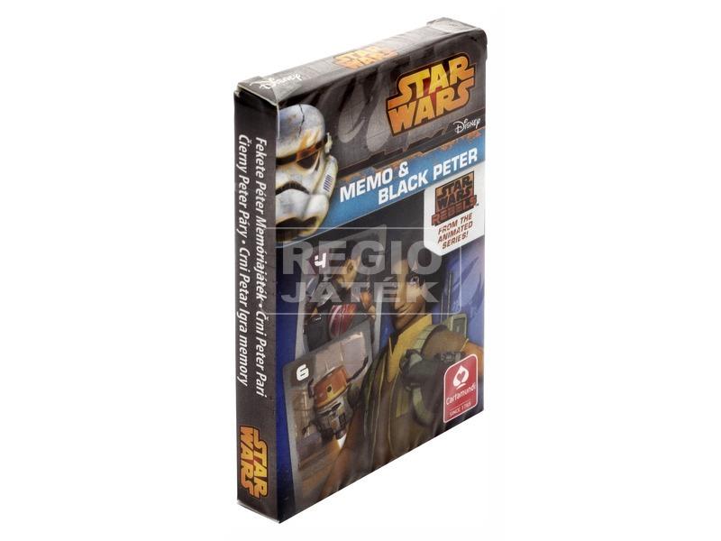 SW Rebels MINI Fekete Péter kártya