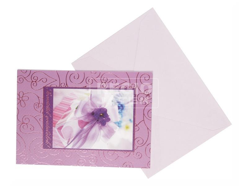 Exkluzív képeslap borítékkal - többféle
