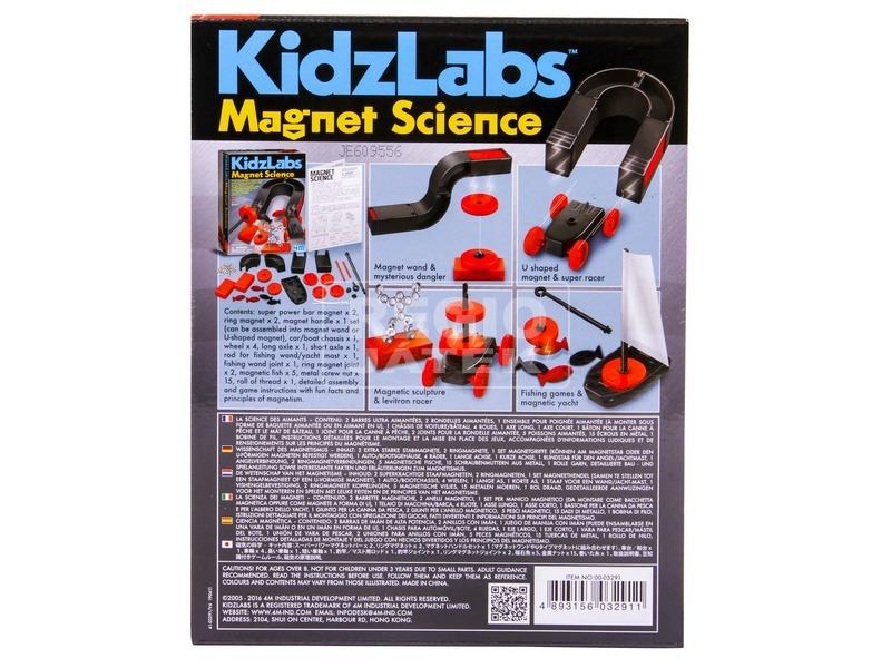 kép nagyítása 4M mágneses tudomány készlet