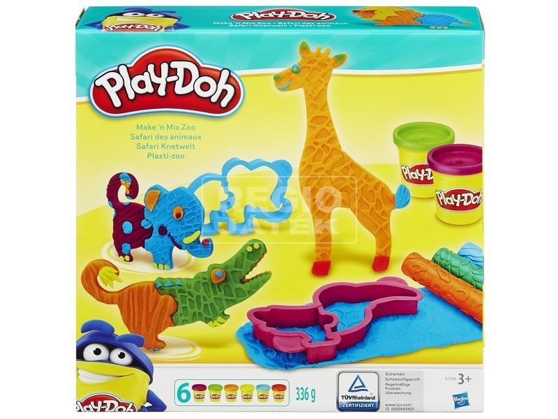 Play-Doh bolondos állatkert készlet