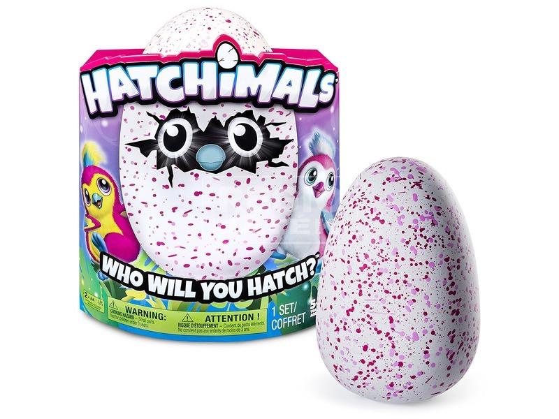Hatchimals Penguella rózsaszín tojásban