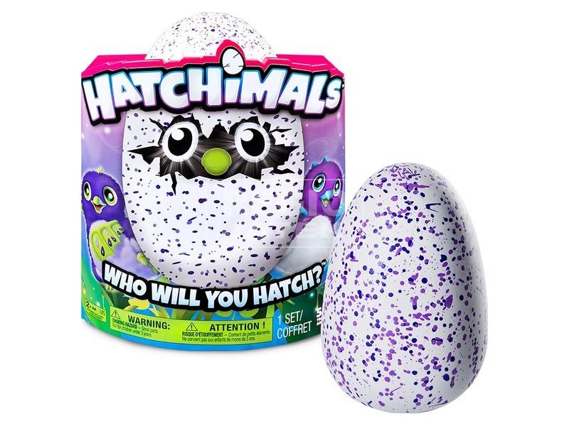 Hatchimals Draguella lila tojásban