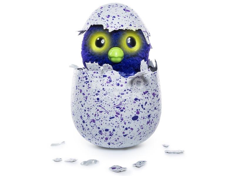 kép nagyítása Hatchimals Draguella lila tojásban
