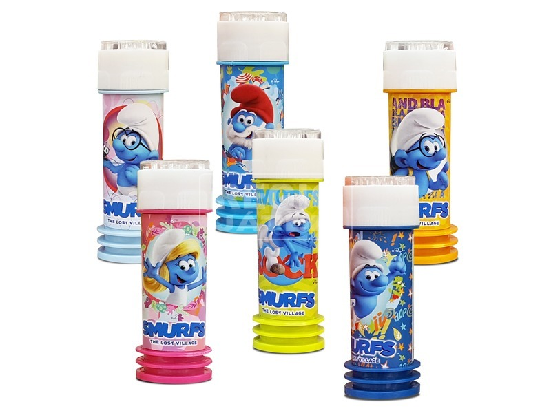 Hupikék Törpikék buborékfújó - 60 ml, többféle