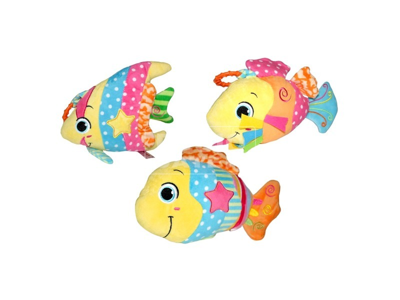 Bébi játék 3 féle hal F
