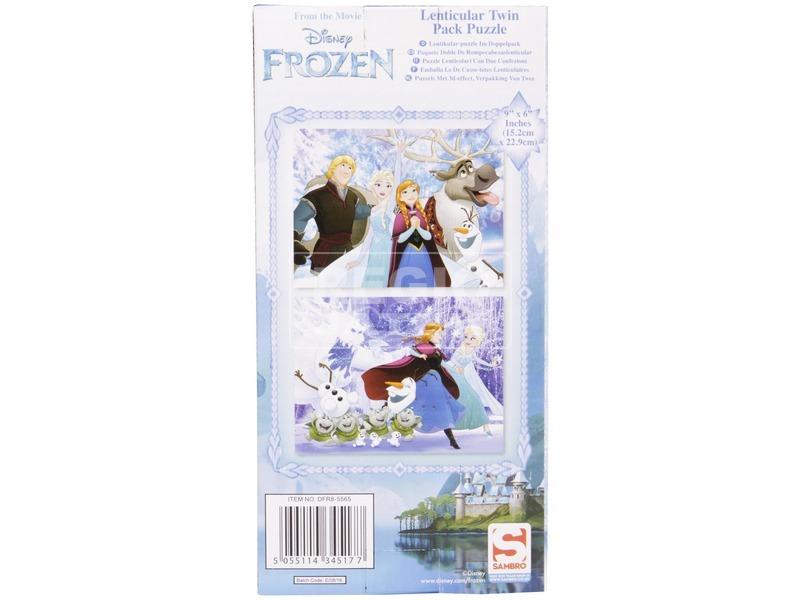 kép nagyítása Puzzle 2 db /csomag - Jégvarázs