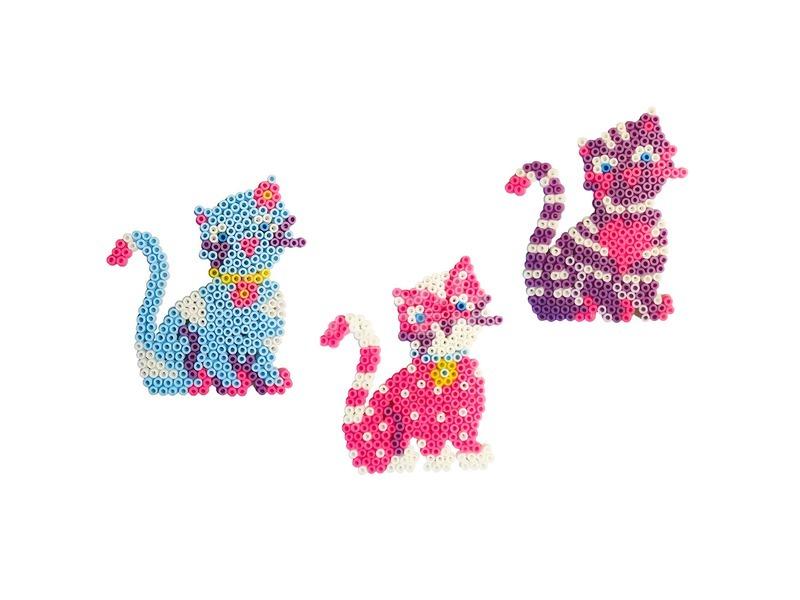kép nagyítása SES cica vasalható gyöngy 1200 darabos készlet