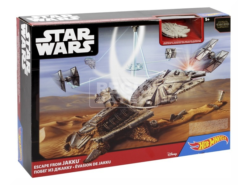 Hot Wheels Star Wars csillaghajó versenypálya