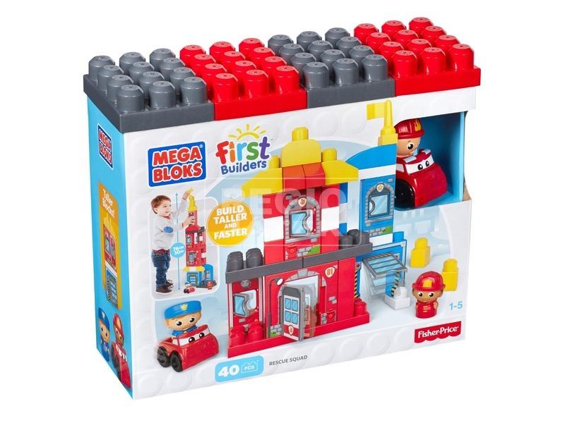 Mega Bloks mentőcsapat játékkészlet
