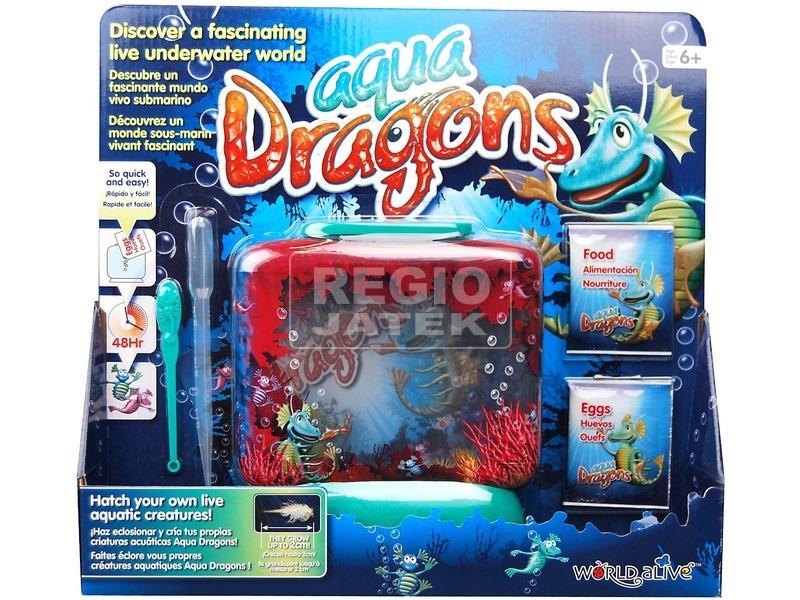 Aqua Dragons vízalatti világ díszdobozban