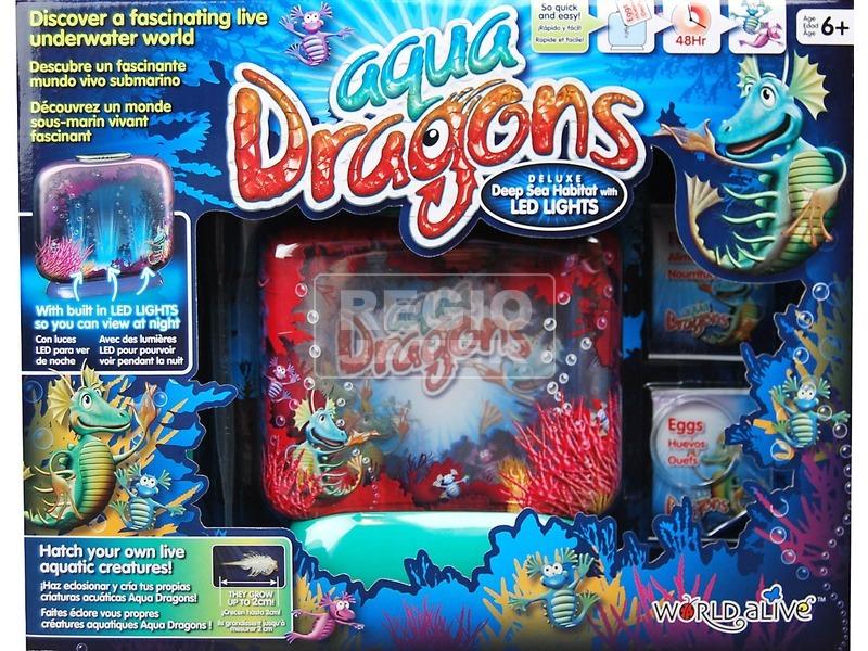 Aqua Dragons vízalatti világ LED világítással